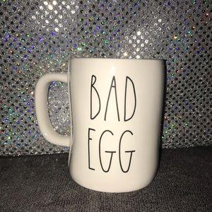 Rae Dunn Easter coffee cup Bad Egg; Good Egg